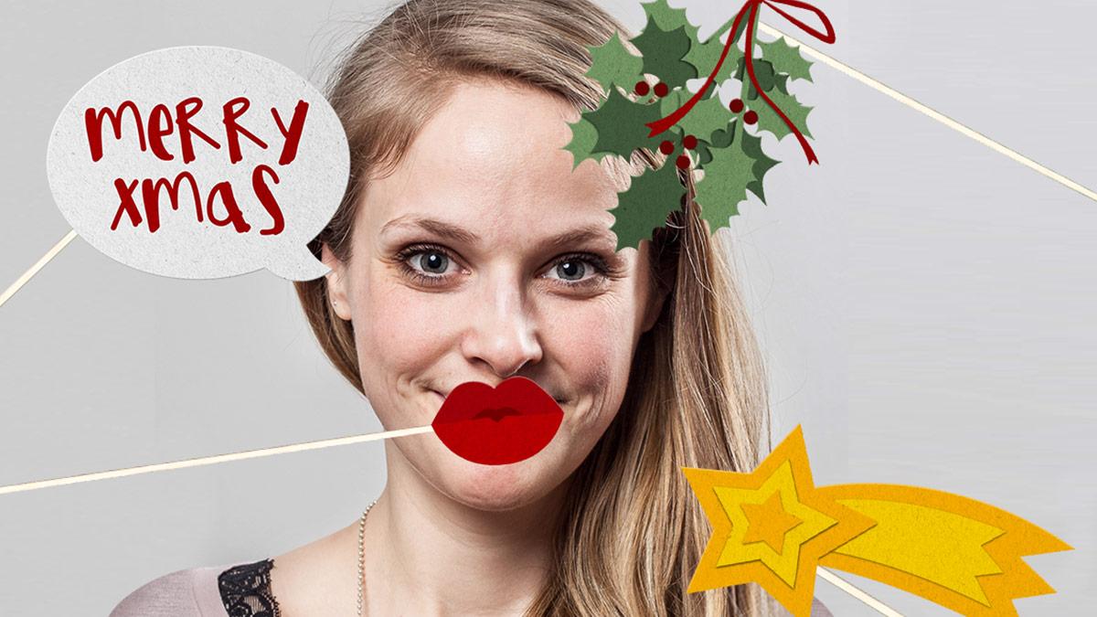 Coca-Cola Kampagne Weihnachts-Selfie 2016 // Selfie mit Weihnachts-Props