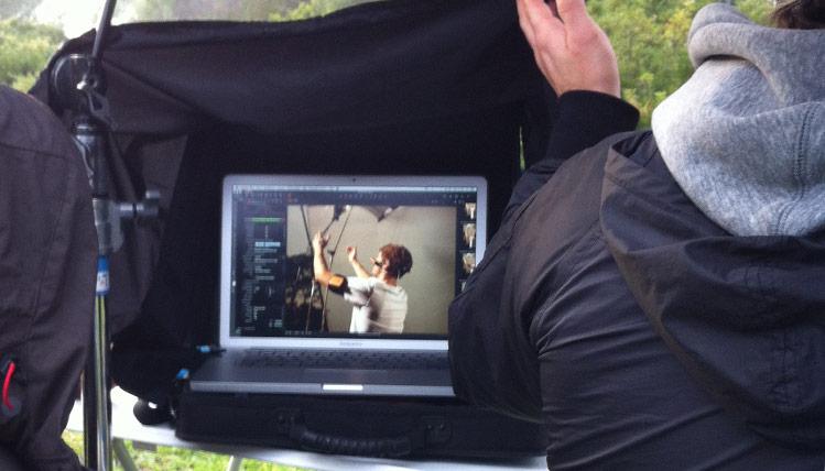 Foto- und Filmproduktionen für Kampagnen und Websites // Fotoshooting: Panasonic A100