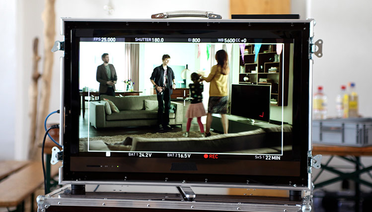 Foto- und Filmproduktionen für Kampagnen und Websites // Fotoshooting und Filmdreh: Panasonic Smart VIERA